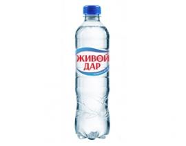"""Вода """"Живой дар"""" газировнная"""