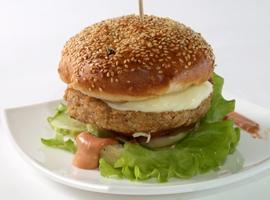 Бургер с бифштексом